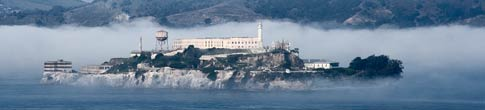 [Alcatraz in the Morning Fog]